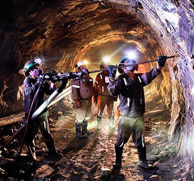 Resultado de imagen para imagen de actividad minera
